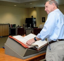 Archives and records management reading room